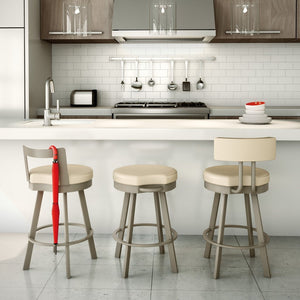 Amisco Barry Swivel Counter Stool - Affordable Modern Furniture at By Design