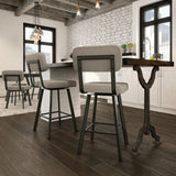 Brixton Swivel Bar Stool - Affordable Modern Furniture at By Design