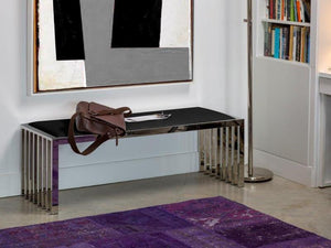 Katie Bench - Black - Affordable Modern Furniture at By Design