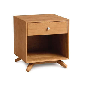Astrid 1 Drawer Nightstand by Copeland Furniture + bydesigntexas.com