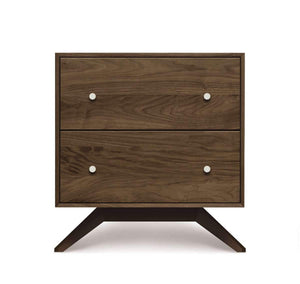 Astrid Two Drawer Nightstand by Copeland Furniture - Affordable Modern Furniture at By Design