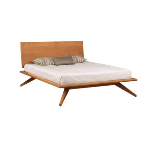 Astrid Bed with Single Panel Headboard by Copeland Furniture  (In-stock colors) - Affordable Modern Furniture at By Design