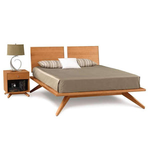 Copeland Furniture Astrid Bed With Two Adjustable Headboards  + bydesigntexas.com