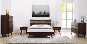 Azara Bed Queen - King - California King Size - Sable - Affordable Modern Furniture at By Design