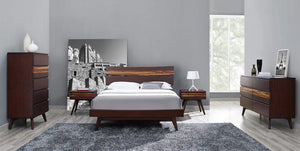 Azara Bed Queen - King - California King Size - Sable + bydesigntexas.com