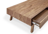 Azle II Coffee Table - Natural Walnut - Affordable Modern Furniture at By Design