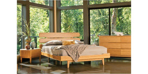 Currant Platform Bed by Greenington - Caramelized- Queen / King / Cal King - Affordable Modern Furniture at By Design
