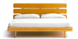 Currant Platform Bed - Caramelized - Queen / King / Cal King - Affordable Modern Furniture at By Design