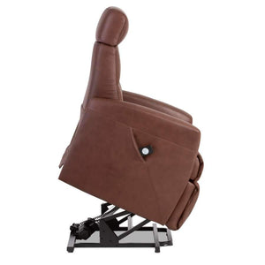 IMG Divani Multifunctional Lift Chair in Cognac -Large - Affordable Modern Furniture at By Design