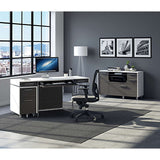 Format Mobile 6320 Credenza by BDi - Charcoal White