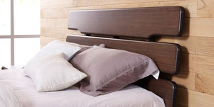 Currant Platform Bed Queen / King / Cal King - Black Walnut - Affordable Modern Furniture at By Design