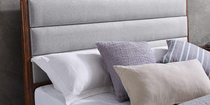 Greenington Mercury Upholstered Bed Queen / King / Cal King - Affordable Modern Furniture at By Design