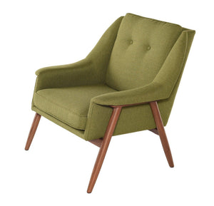 Grace Occasional Chair in Walnut by Nuevo