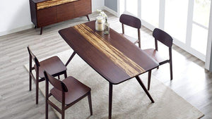 Azara Dining Table Set by Greenington - Exotic Bamboo - Affordable Modern Furniture at By Design