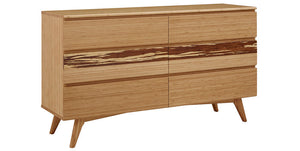 Azara Dresser- Caramelized Finish - Affordable Modern Furniture at By Design