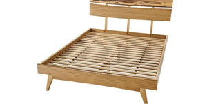 Azara Bed Frame Queen / King / Cal King - Caramilized Finish