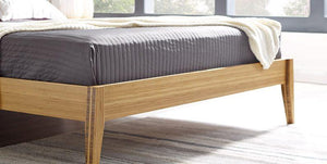 Sienna Platform Bed Set by Greenington - Caramelized - Queen / King