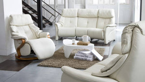Chester Recliner Loveseat and Sofa with Integrated Footrest by Himolla Germany - Affordable Modern Furniture at By Design