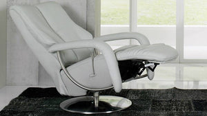Ellington Recliner Chair with Integrated Footrest + bydesigntexas.com