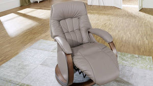 Mosel Recliner Chair with Integrated Footrest + bydesigntexas.com
