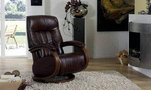 Mosel Recliner Chair with Integrated Footrest by Himolla Germany - Affordable Modern Furniture at By Design