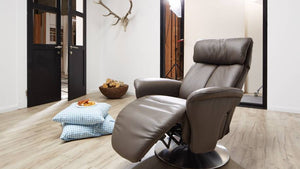 Sinatra Recliner Chair with Integrated Footrest by Himolla Germany - Affordable Modern Furniture at By Design
