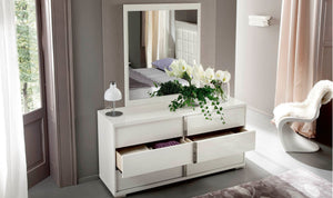 Imperia 4 Piece Italian Bedroom Set by ALF Italia - Affordable Modern Furniture at By Design