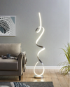 Lori LED Floor Lamp - SILVER - Affordable Modern Furniture at By Design