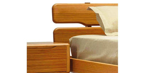 Currant Platform Bed by Greenington - Caramelized- Queen / King / Cal King