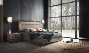 ALF Matera Italian Bedroom Set W/LED - Affordable Modern Furniture at By Design