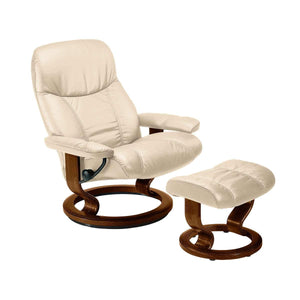 Stressless Consul Chair with Classic Base - Small - Affordable Modern Furniture at By Design
