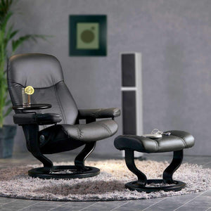 Stressless Consul Chair with Classic Base - Large - Affordable Modern Furniture at By Design