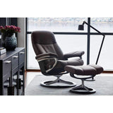 Stressless Consul Chair with Signature Base - Medium - Affordable Modern Furniture at By Design