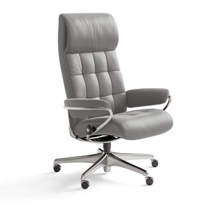 Stressless London High Back Office Chair + bydesigntexas.com
