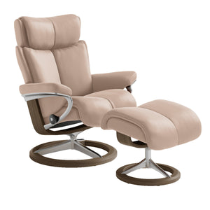 [Stressless Magic Chair with Signature Base] - ByDesignTexas.com