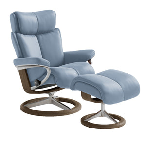 [Stressless Magic Chair with Signature Base ] - ByDesignTexas.com
