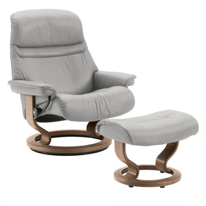 Stressless Sunrise Chair with Classic Base - Small - ByDesignTexas.com