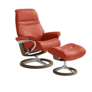 Stressless Sunrise Chair with Signature Base - Large - ByDesignTexas.com