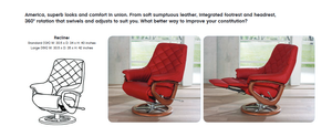 America Recliner Chair with Integrated Footrest by Himolla Germany - Affordable Modern Furniture at By Design