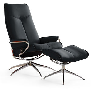 Stressless City High-Back with High Base Chair by Ekornes - Affordable Modern Furniture at By Design