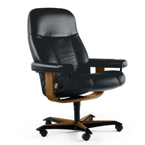 Stressless Consul Office Chair by Ekornes + bydesigntexas.com