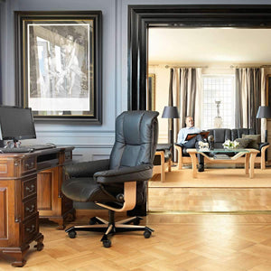 Stressless Mayfair Office Chair by Ekornes + Colors