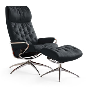 Stressless Metro High-Back with High Base Chair by Ekornes - Affordable Modern Furniture at By Design