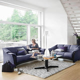 Stressless Oslo Sofa Collectiona by Ekornes - Paloma Sand - Affordable Modern Furniture at By Design
