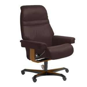 Stressless Sunrise Office Chair by Ekornes + bydesigntexas.com