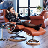 Stressless View Chair with Signature Base + bydesigntexas.com