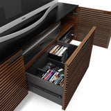 BDi Corridor® 8177 - Small Media Center - Charcoal Stained Ash - Affordable Modern Furniture at By Design