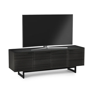 BDi Corridor® 8179 - Media Console - Charcoal Stained Ash - Affordable Modern Furniture at By Design