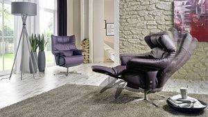 Harmony Recliner Chair with Integrated Footrest + bydesigntexas.com