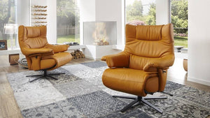 Harmony Recliner Chair with Integrated Footrest by Himolla Germany - Affordable Modern Furniture at By Design